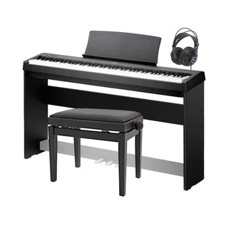 Kawai ES 100 Digital Stage Piano Deluxe Package, Black