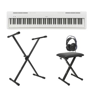 Kawai ES 100 Digital Stage Piano X Frame Package, White