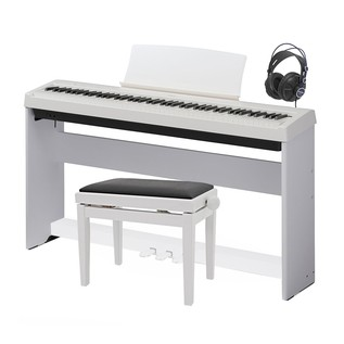 Kawai ES 100 Digital Stage Piano Deluxe Package, White