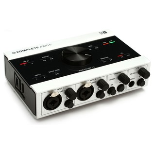Native Instruments Komplete Audio 6 USB Audio Interface - Angled