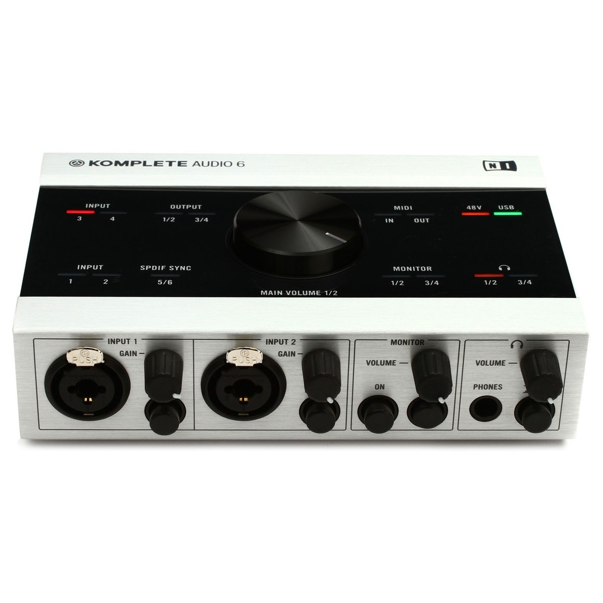 native instruments komplete audio 6 usb audio interface at. Black Bedroom Furniture Sets. Home Design Ideas