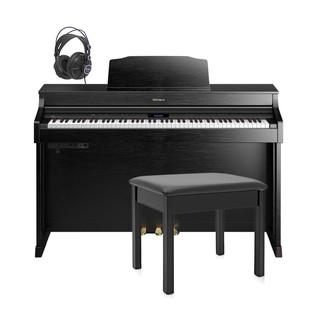 Roland HP603 Digital Piano Package, Contemporary Black