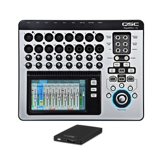 QSC TouchMix 16 Compact Digital Mixer with TrekStor DataStation Picco SSD