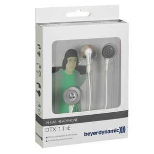 Beyerdynamic DTX 11 iE In Ear Headphones, Shine Light Grey