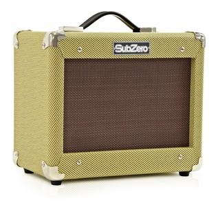 San Diego Semi Acoustic Guitar and SubZero V15G Amp Pack, Natural
