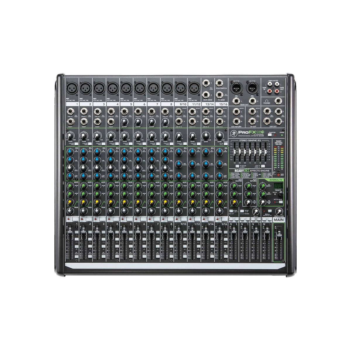 Mackie profx16v2 16 voies professionnel effets table de mixage b stock - Table de mixage professionnel ...