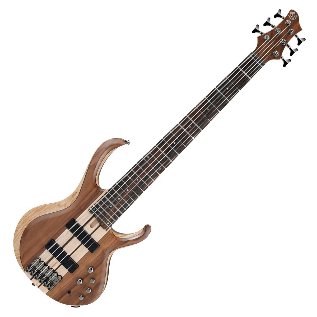 ibanez btb746 6 string bass guitar natural low gloss at. Black Bedroom Furniture Sets. Home Design Ideas