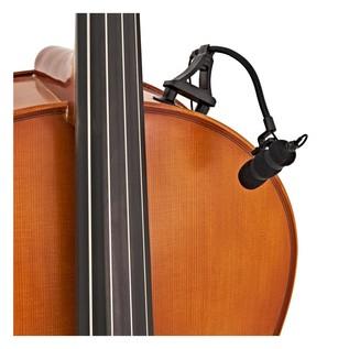 SubZero Clip On Instrument Condenser Microphone + Complete Clip Pack