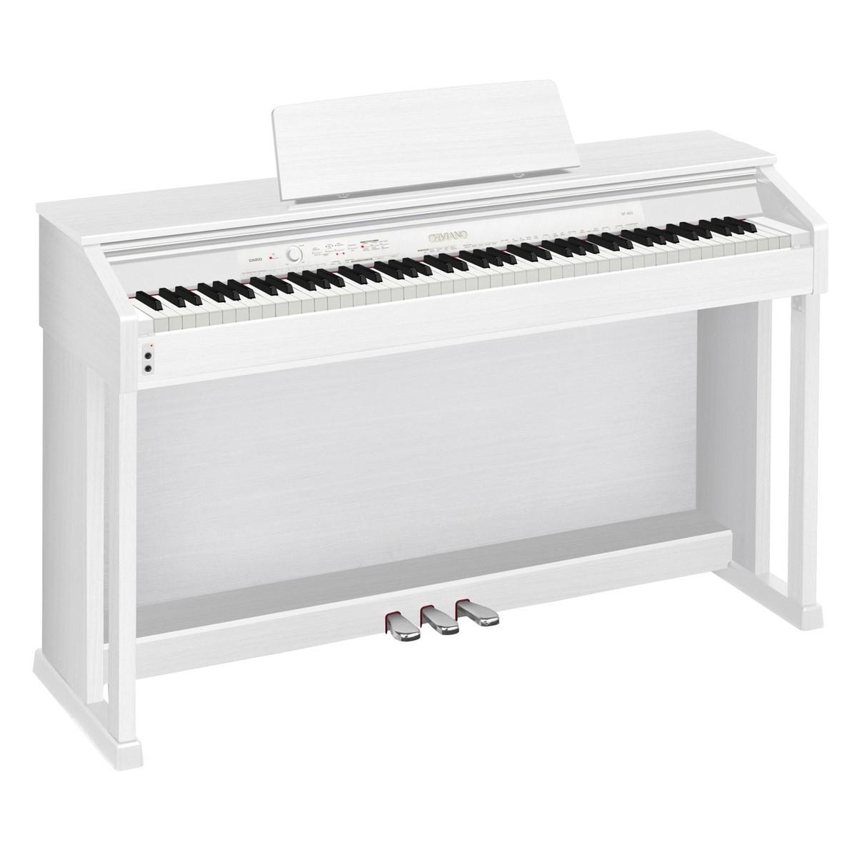 casio celviano ap 460 digital piano white at. Black Bedroom Furniture Sets. Home Design Ideas