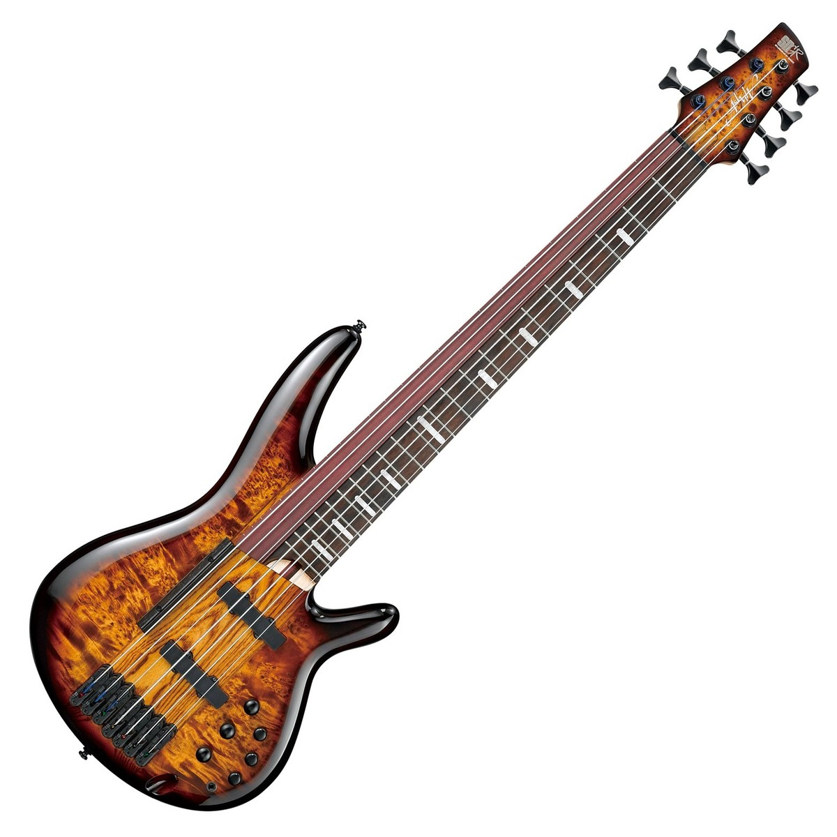 ibanez sras7 7 string fretted fretless bass guitar at. Black Bedroom Furniture Sets. Home Design Ideas