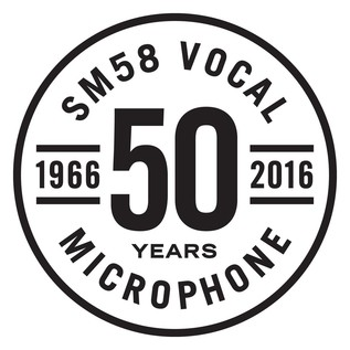 SM58 50th Anniversary Microphone