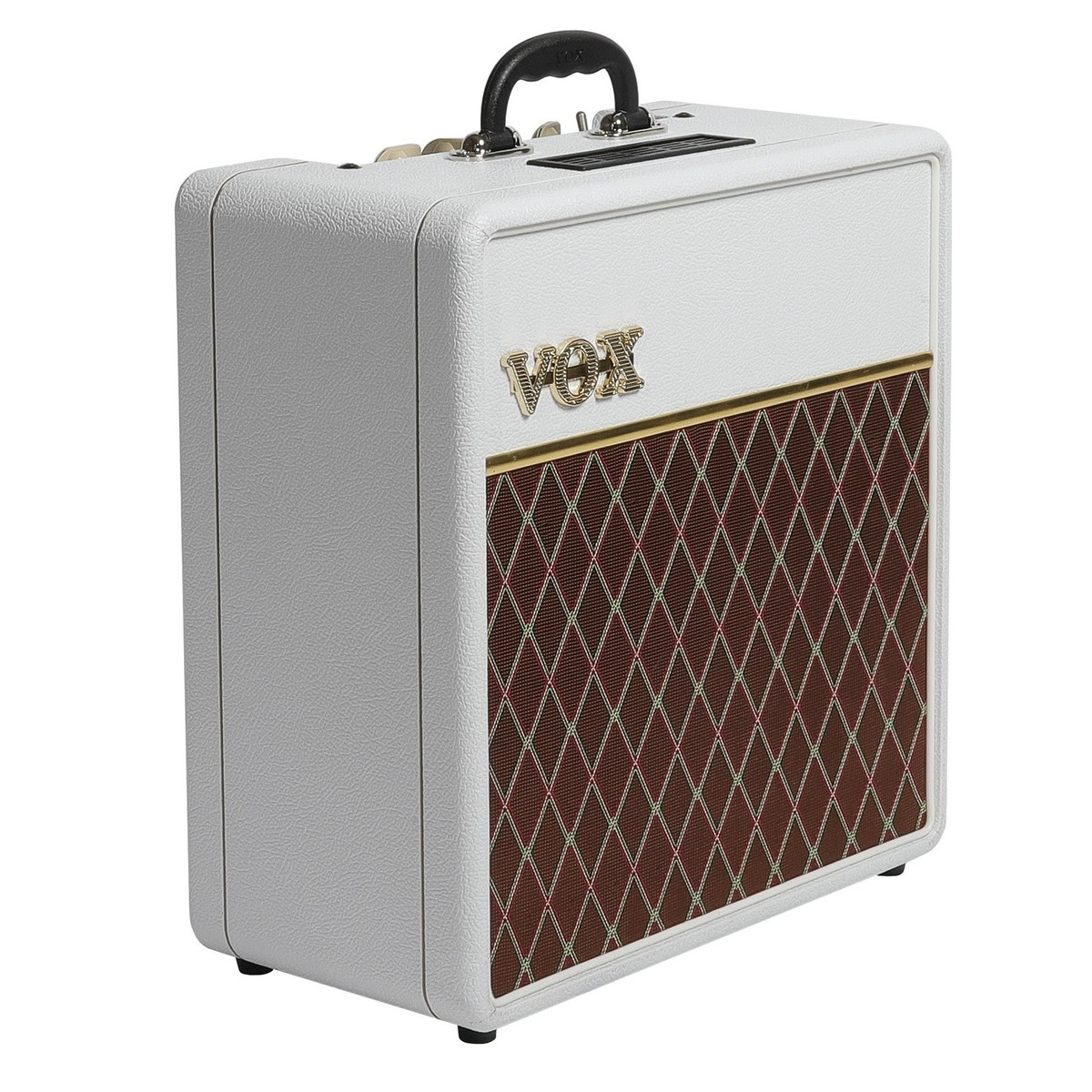 vox ac4c1 12 limited edition guitar combo amp white bronco at. Black Bedroom Furniture Sets. Home Design Ideas