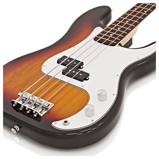 LA Bass Guitar by Gear4music, Sunburst