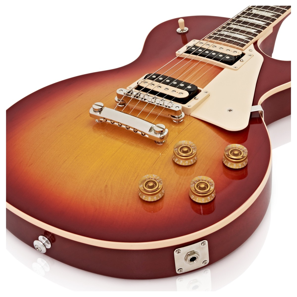 gibson les paul classic t electric guitar cherry sunburst 2017 at. Black Bedroom Furniture Sets. Home Design Ideas