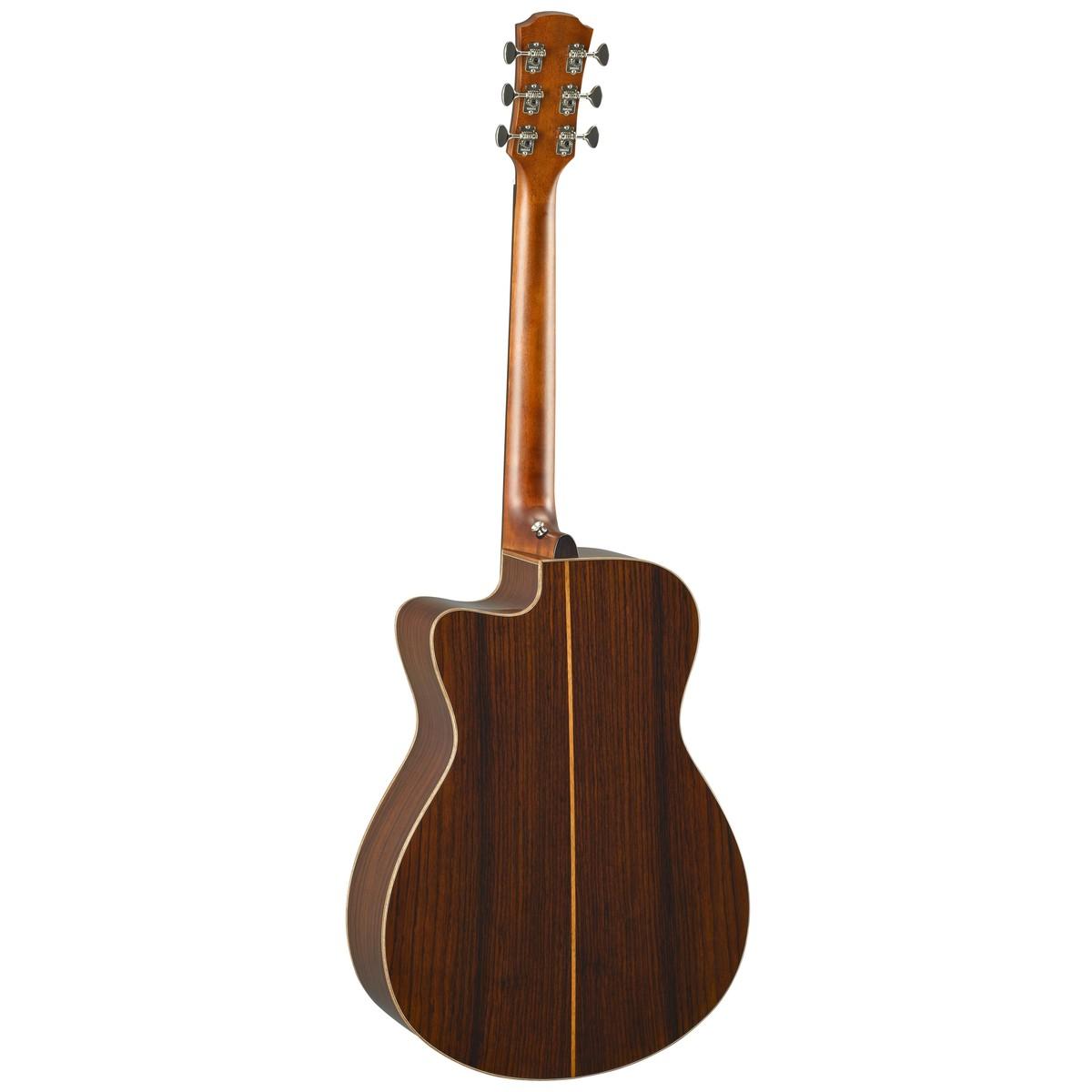 Yamaha ac5r rosewood electro acoustic guitar vintage for Acoustic yamaha guitar