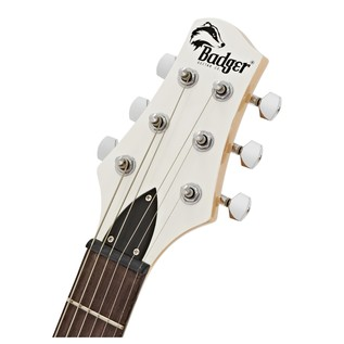 Badger Classic Electric Guitar, White