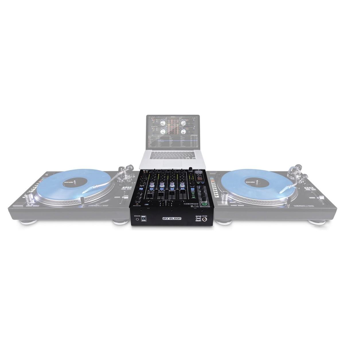 Reloop table de mixage dj rmx 90 dvs - Table de mixage virtuel gratuit en francais ...