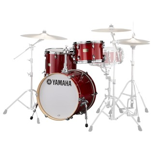 Yamaha Stage Custom Bop 3 Pc Shell Pack, Cranberry