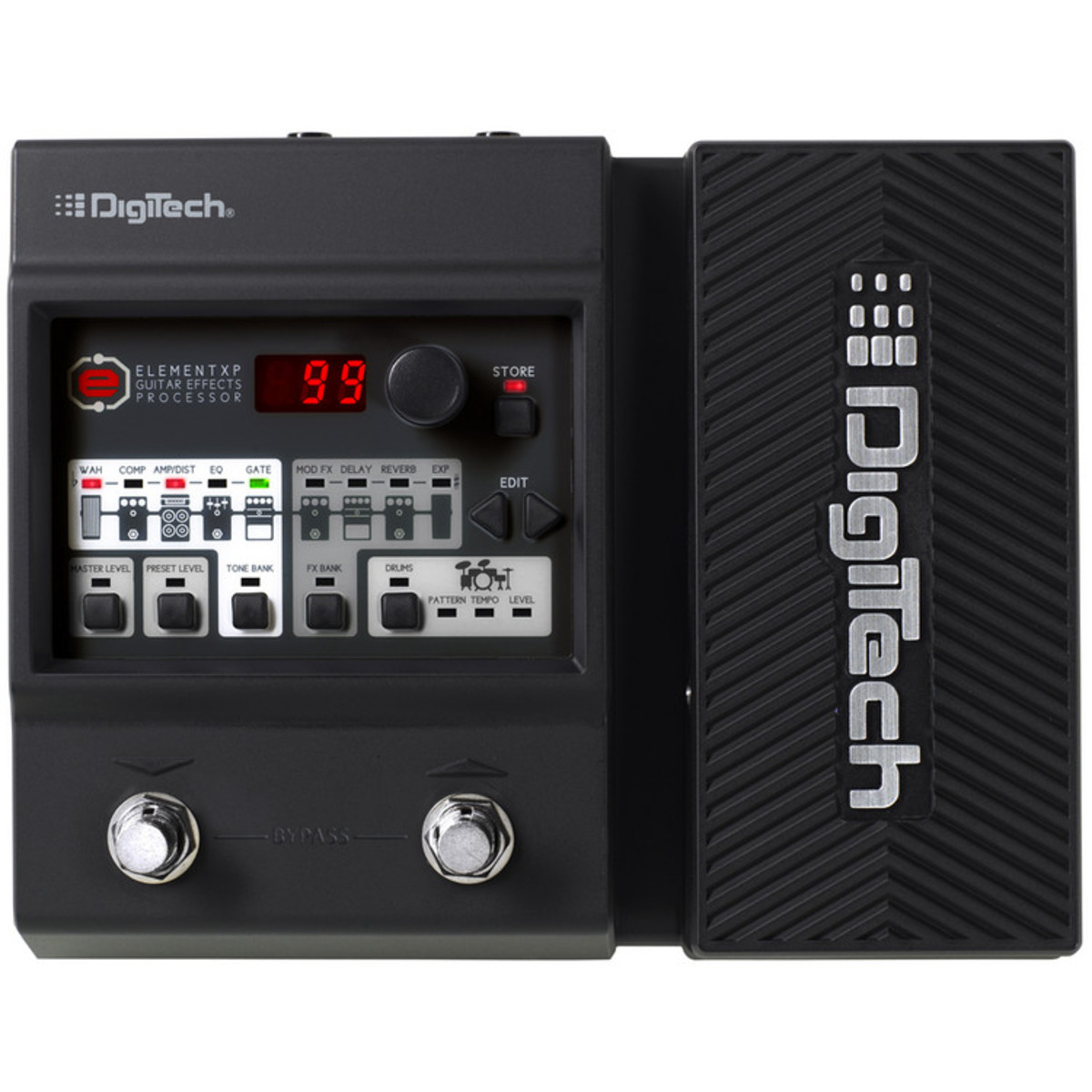 digitech element xp guitar amp modelling and multi effects pedal box opened at. Black Bedroom Furniture Sets. Home Design Ideas