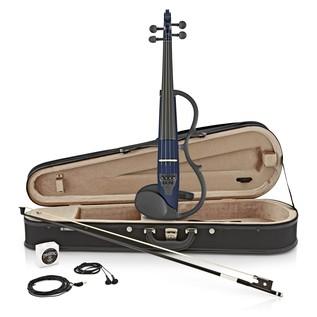 Yamaha SV130 Silent Violin Kit, Navy Blue