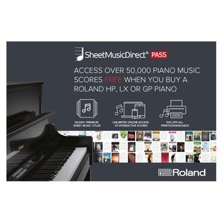 Roland Sheet Music Ofer