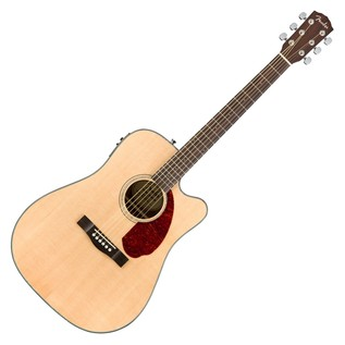 Fender CD-140SCE Dreadnought Electro Acoustic Guitar, Natural