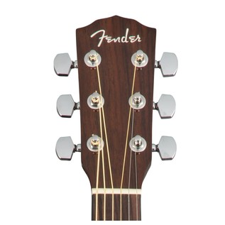 Fender CD-140SCE Dreadnought Electro Acoustic Guitar, Natural Headstock