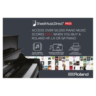 Roland Sheet Music Offer