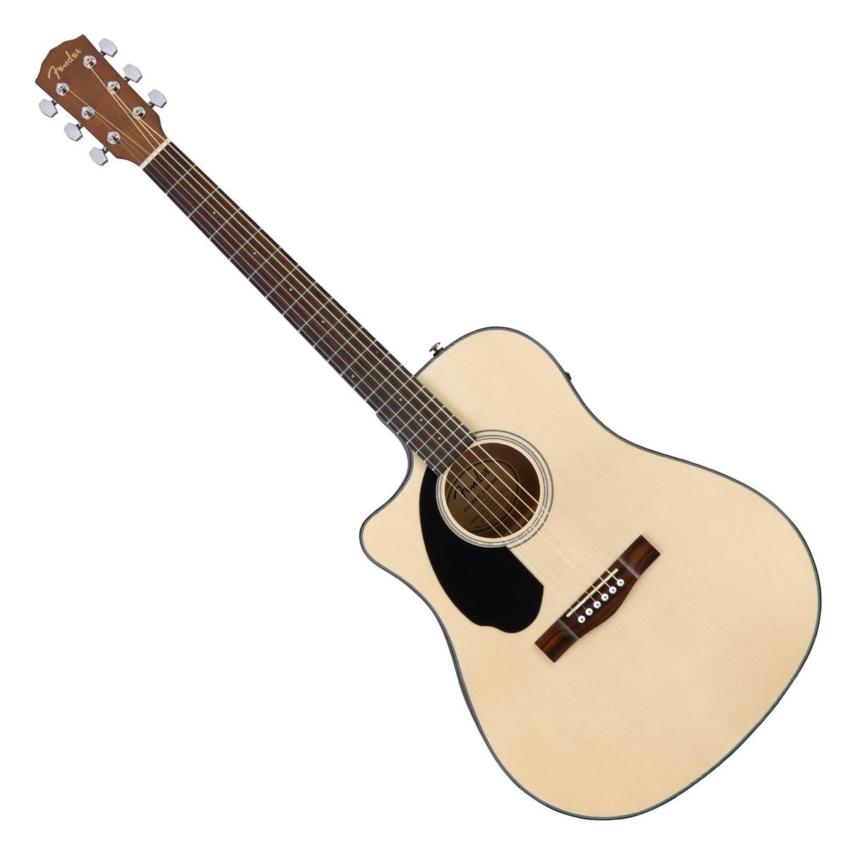 fender cd 60sce left handed dreadnought electro acoustic guitar at. Black Bedroom Furniture Sets. Home Design Ideas