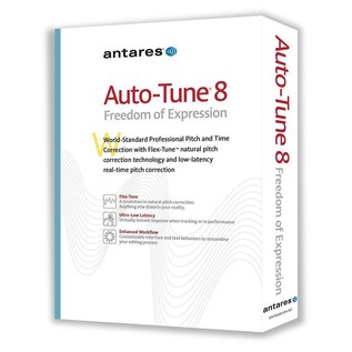 Antares Auto-Tune 8 Pitch Correction Software - Boxed