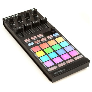 Native Instruments Traktor Kontrol F1 DJ Controller - Angled