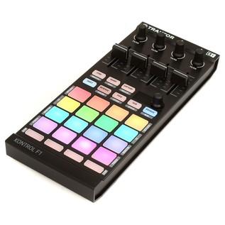 Native Instruments Traktor Kontrol F1 Portable DJ Controller - Angled 2