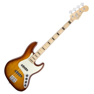 Fender American Elite Jazz Bass, Ash, MN, TBS