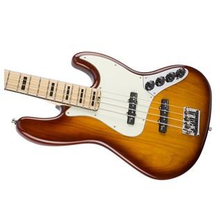 Fender American Elite Jazz Bass, Ash, MN, TBS Right