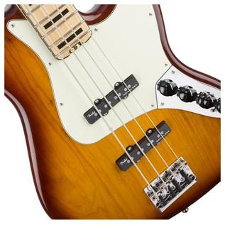 Fender American Elite Jazz Bass, Ash, MN, TBS Close