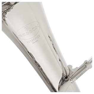 Besson Sovereign BE950 Tenor Horn, Silver Plated