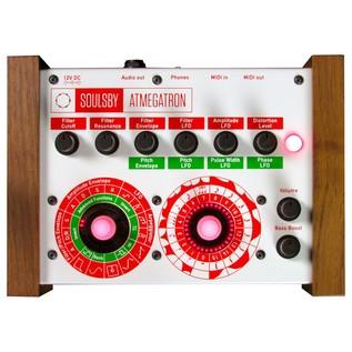 Soulsby Atmegatron 8-Bit Synthesizer - Top