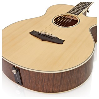 Tanglewood TPE SF DLX Electro Acoustic Guitar, Tiger Stripe Mahogany