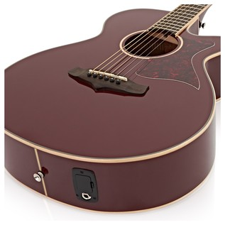 Tanglewood TW4 BR Electro Acoustic Guitar Burgundy Red Gloss