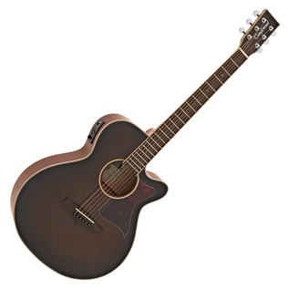 Tanglewood Winterleaf TW4 WB Electro Acoustic Guitar, Whiskey Barrel