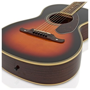 Fender Ron Emory Loyalty Parlor Acoustic Guitar, Sunburst