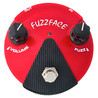 Jim Dunlop    Fuzz Face Mini germanu czerwony FFM2 - pole otwarte
