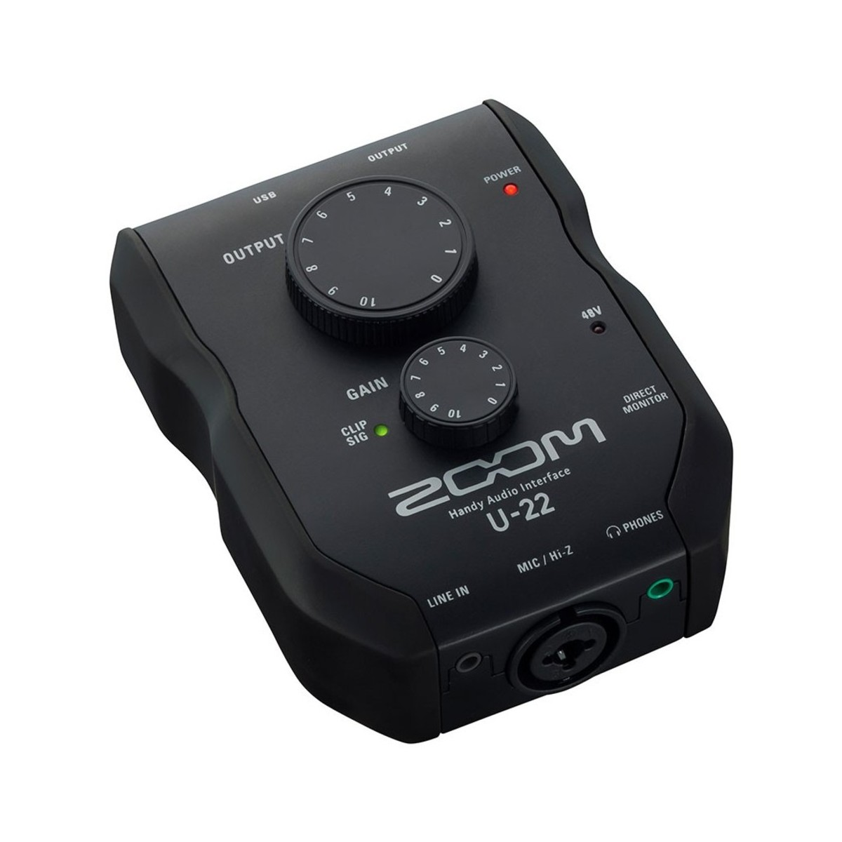 zoom u22 usb audio interface box opened at. Black Bedroom Furniture Sets. Home Design Ideas