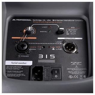 JBL EON 315 connectors