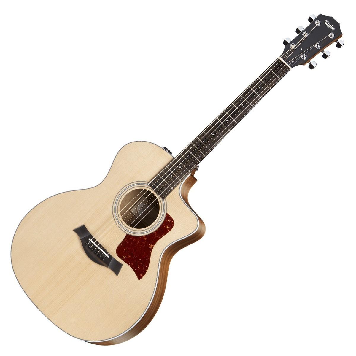 taylor 214ce grand auditorium electro acoustic guitar 2017 at. Black Bedroom Furniture Sets. Home Design Ideas