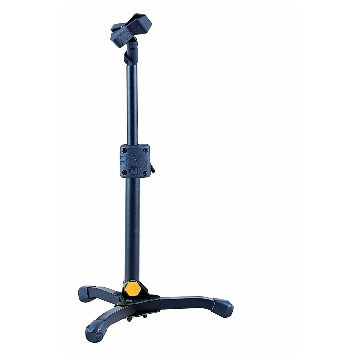 Hercules Ms300b Mini Microphone Stand With Ez Mic Clip At