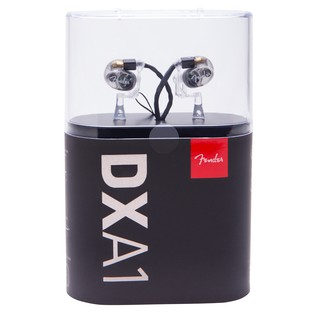 Fender DXA1 Pro In-Ear Monitors, Transparent Charcoal Packaging
