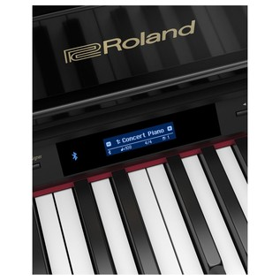Roland GP607 Grand piano screen