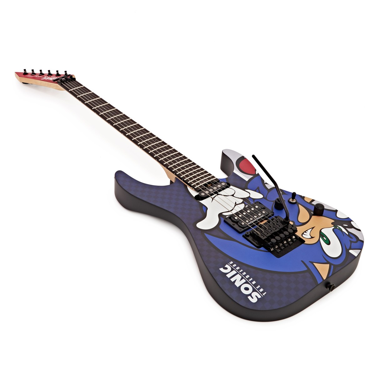 esp sn 25th sonic the hedgehog guitar ii at. Black Bedroom Furniture Sets. Home Design Ideas