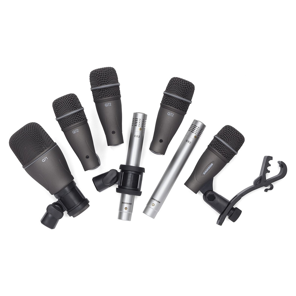 Drum Mic Setting : samson dk707 7 piece drum mic set at ~ Hamham.info Haus und Dekorationen